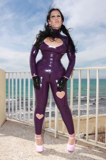 Latex Leggings Heartbeat