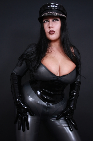 Latex Catsuit Rubber Cat