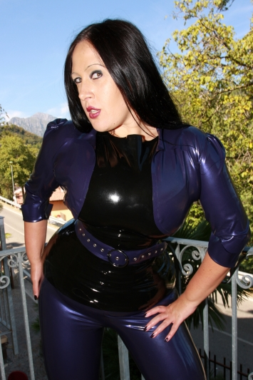 Latex Bolero Sexy Lady
