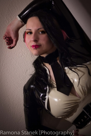Latex Krawatte Secretary