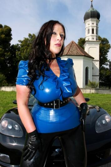 Latex Bluse Princess