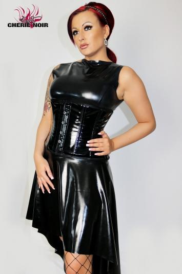 Latexkleid Cherie Noir