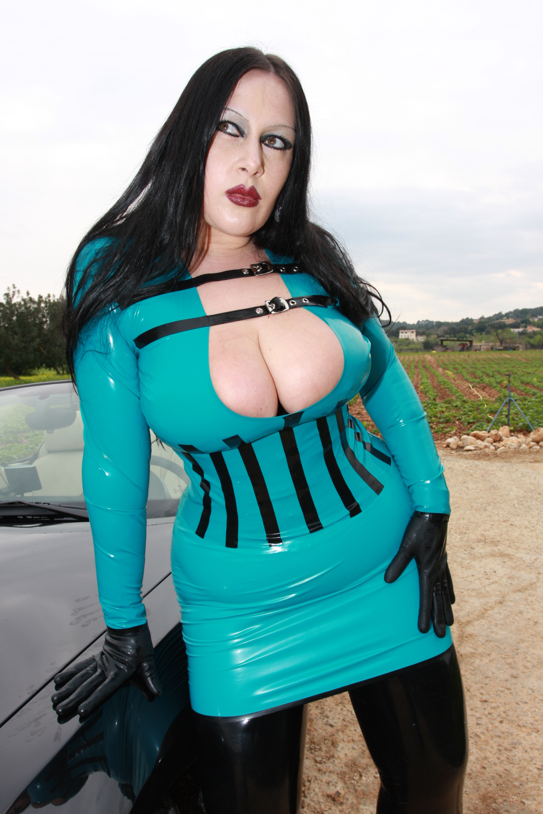 Latex lady s