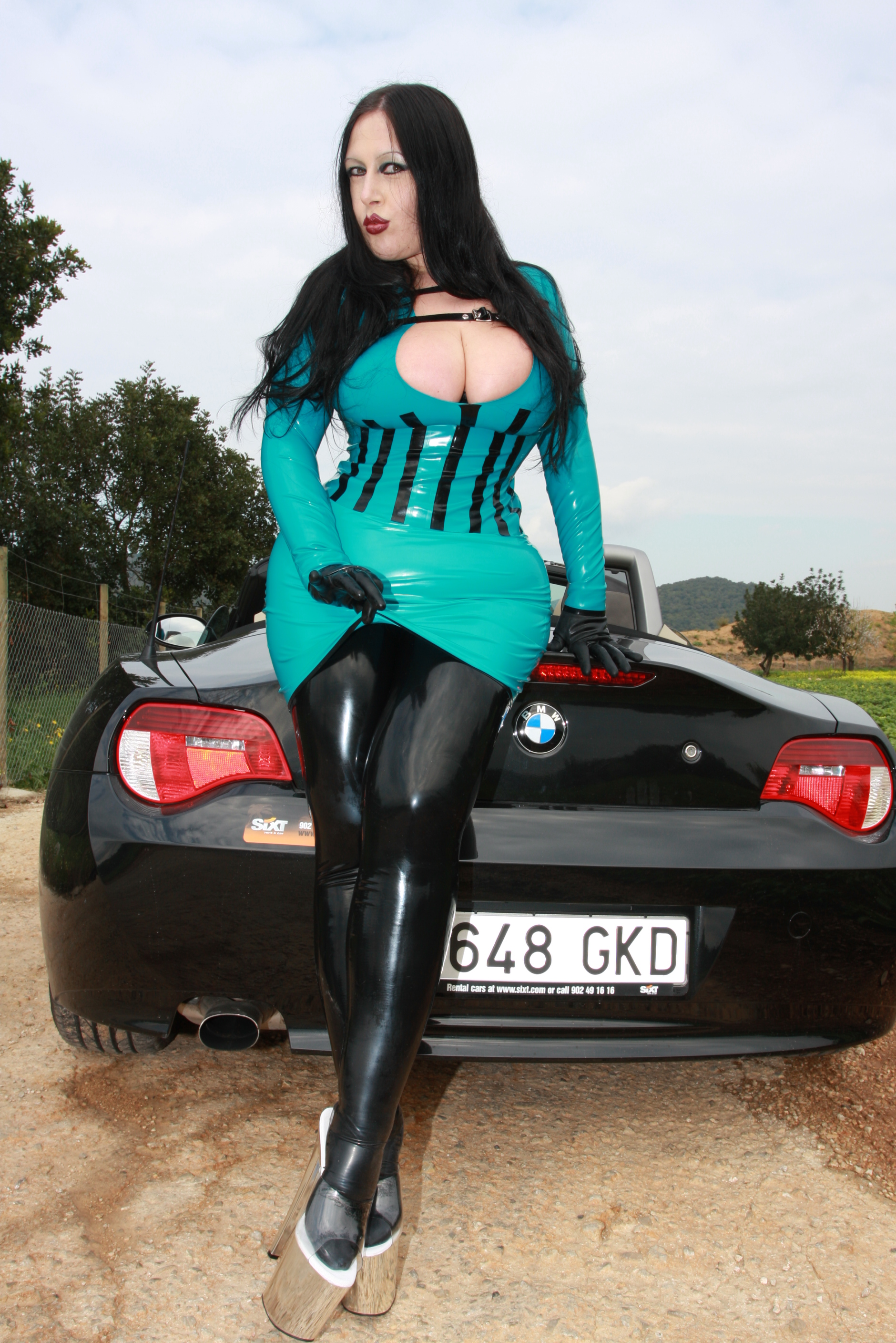 Latex Lady S Fashion Shop Latex Top Bombshell Designed