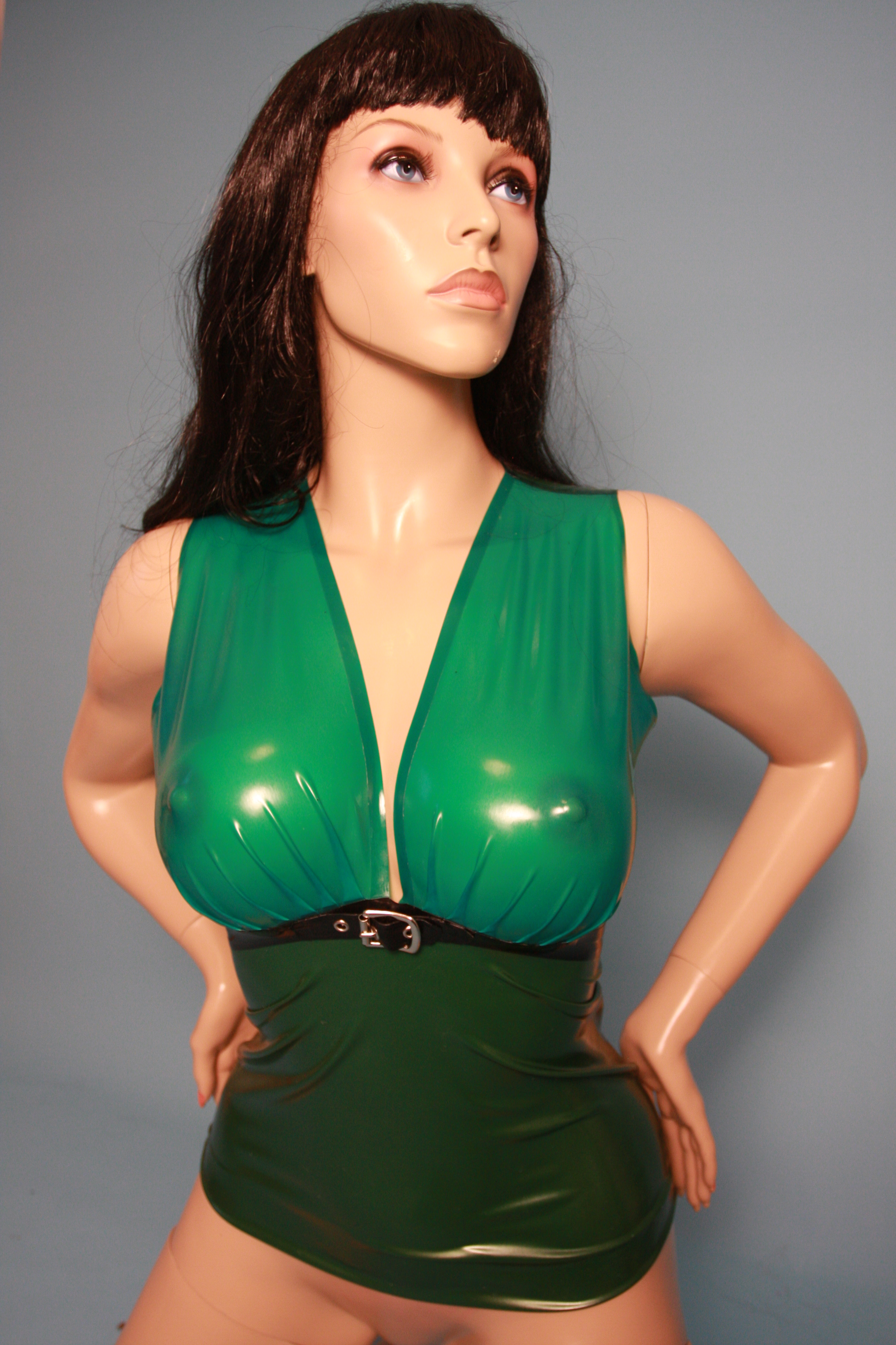 Latex Lady S Fashion Shop - Latex Oberteil Sexy Secret