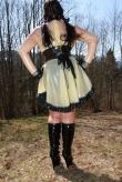 Clear Maid Latex Kleid
