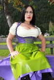 Latex Dirndl Wiesn Madl