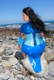 Latex Kleid Little Dolphin