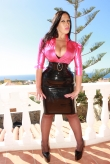 Latex Kleid Sexy Lady