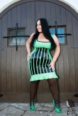 Latex Kleid Summer Candy