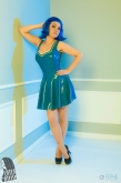 Latex Kleid Sweet Swing