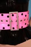Latex Gürtel Polka Dot
