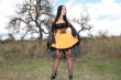 Latex Kleid Witch