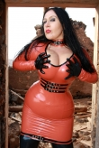 Latex Oberteil Hot Action