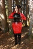 Latex Hüftrock Lady Vamp