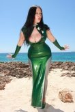 Latex Kleid Lady Lotus