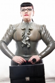 Latex Blouse Goddess