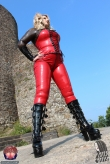 Latex Catsuit Devils Diva