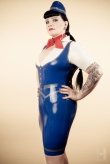Latex Hut Hot Stewardess
