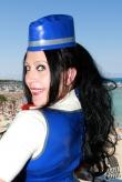 Latex Hut Hot Stewardess