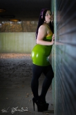 Latex Kleid Apple Juice