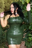 Latex Kleid Jungle Fever