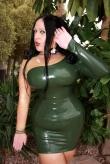 Latex Kleid Jungle Fever