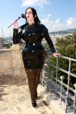 Latex Kleid Miss Rivet