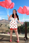Latex Kleid Queen of Hearts