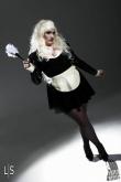 Latex Dress Strict Maid