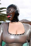 Latex Maske Space Place
