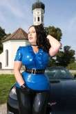 Latex Bluse Princess