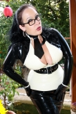 Latex Oberteil Cute Cat