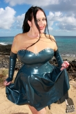 Latex Oberteil Mystic Love