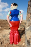 Latex Rock Diva Couture