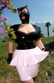 Latex Skirt Lady Fantasy