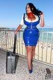 Latex Uniform Hot Stewardess