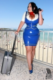 Latex Uniform Hot Stewardess