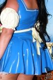Latex Schürze Summer Maid