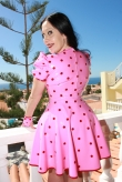 Latex Kleid Rockabilly Dream