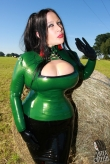 Latex Top Strict Lacing