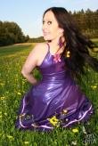Latex Kleid Summer Flower