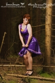 Latex Kleid Summer Flower