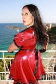 Latex Kleid Maid Deluxe
