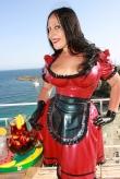 Latex Schürzchen Maid Deluxe