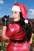Latex Mütze Santa Babe