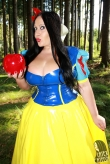 Latex Oberteil Snow White